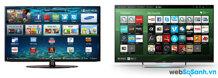 So sánh TiVi  40 inch Sony KDL40W600B và Samsung UN40H5500