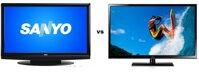 So sánh Tivi LCD Sanyo 42K40 và Tivi Plasma Samsung PA51H4500