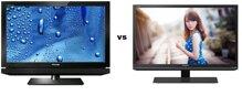 So sánh Tivi LCD Toshiba 32PB2V và Tivi LED Sharp LC-32LE155D2