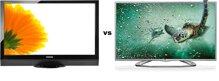 So sánh Tivi LCD Toshiba 32PB2V và Smart Tivi LED 3D LG 32LA613B