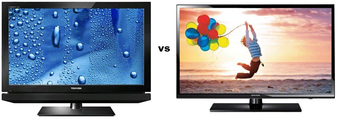 So sánh Tivi LCD Toshiba 32PB2V và Tivi LED Samsung UA32EH4003