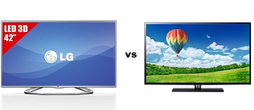 So sánh Tivi LED 3D LG 42LA6130 và Samsung UA32ES5600