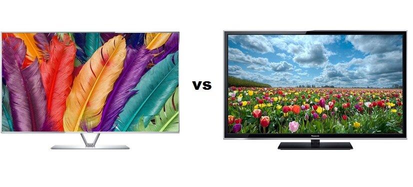So sánh tivi LED 3D Panasonic THL50DT60V và tivi Plasma 3D Panasonic TH-P50XT50V