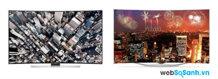 So sánh Tivi LED 3D Samsung UA55HU9000 4K và  OLED  LG 55EC930T đẳng cấp thiết kế cong