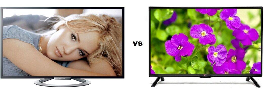 So sánh Tivi LED 3D Sony KDL-47W804A và Tivi LED LG 60LB561T