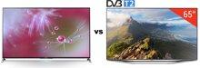 So sánh Tivi LED 3D Sony KD55X8500B và Smart Tivi LED Samsung UA65H7000