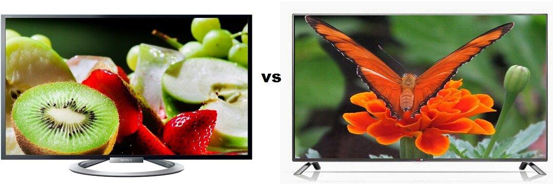 So sánh Tivi LED 3D Sony Bravia KDL42W804 và Smart Tivi LED 3D LG 47LB650T