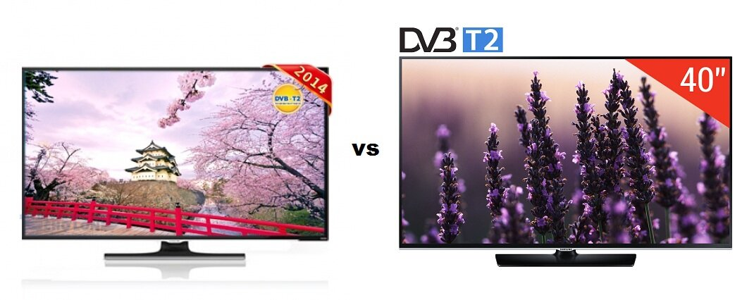 So sánh Tivi LED Darling 50HD900T2 và Samsung UA40H5510