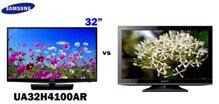So sánh Tivi LED giá rẻ Samsung UA32H4100AR và Tivi LED Sony KLV24EX430