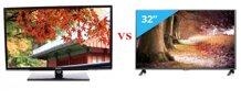 So sánh tivi LED giá rẻ: Samsung UA32EH4003 và LG 32LB552A