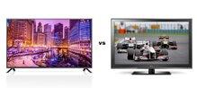 So sánh Tivi LED LG 42LB631T và Tivi LCD LG 42CS460