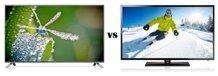 So sánh Tivi LED LG 49LB551T và Smart Tivi LED 3D Samsung UA40F6400