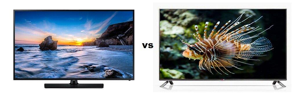 So sánh Tivi LED Samsung UA58H5200 và Smart Tivi LED 3D LG 55LB650T