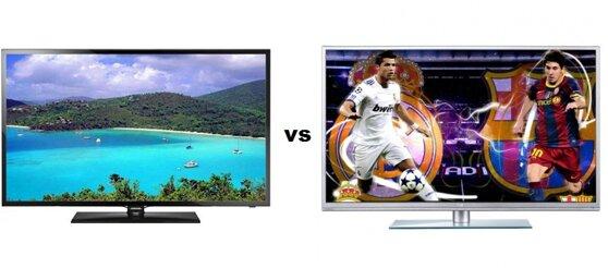 so sánh Tivi LED Samsung UA40F5000 và Smart Tivi LED TCL 39F3390