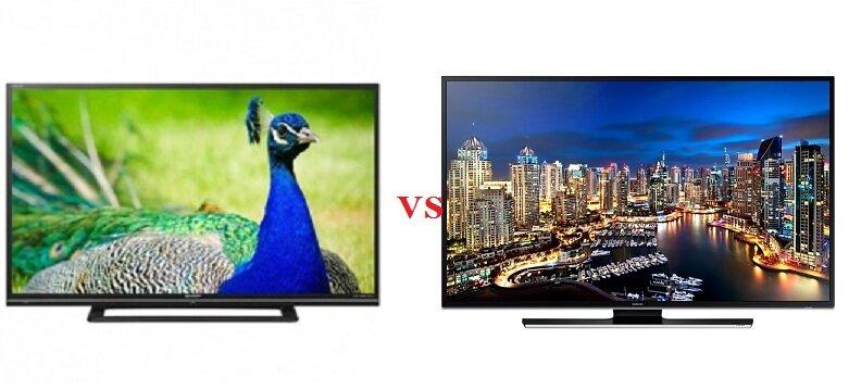 So sánh Tivi LED Sharp LC-60LE650D2 và Tivi LED 3D Samsung UA50HU7000K