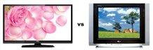 So sánh Tivi LED TCL 16D2200 và Tivi CRT LG 21FU4