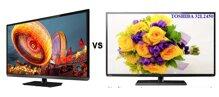 So sánh Tivi LED Toshiba 32L2450 và Tivi LED Toshiba 32P1303 – giá rẻ cho mọi gia đình