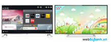 So sánh Tivi LED Toshiba 55L5450V và LG 55LB582T màn hình lớn 55 inch