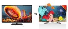 So sánh Tivi LED Toshiba 32L3300 và Smart Tivi LED 3D LG 32LA613B