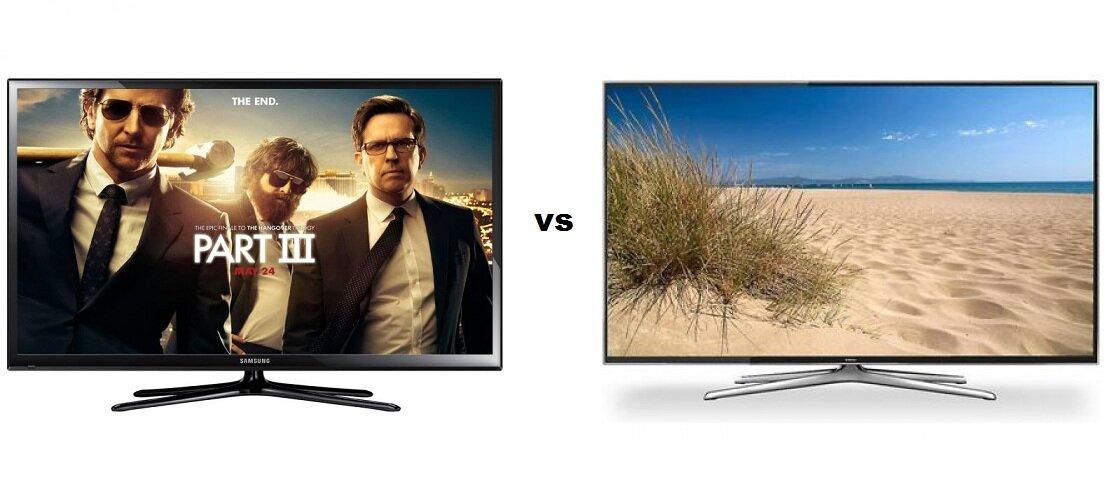 So sánh Tivi Plasma Samsung PS60F5000  và Tivi LED 3D Samsung UA60H6400