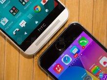 So sánh tốc độ thực tế của HTC One M9 và iPhone 6
