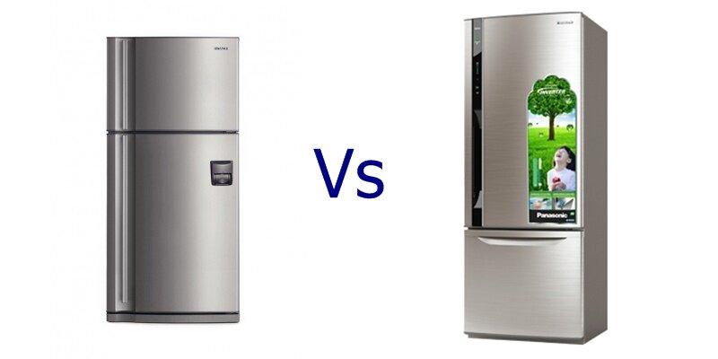 So sánh tủ lạnh Hitachi R-Z660AG7XD và Panasonic NRBW465XSVN