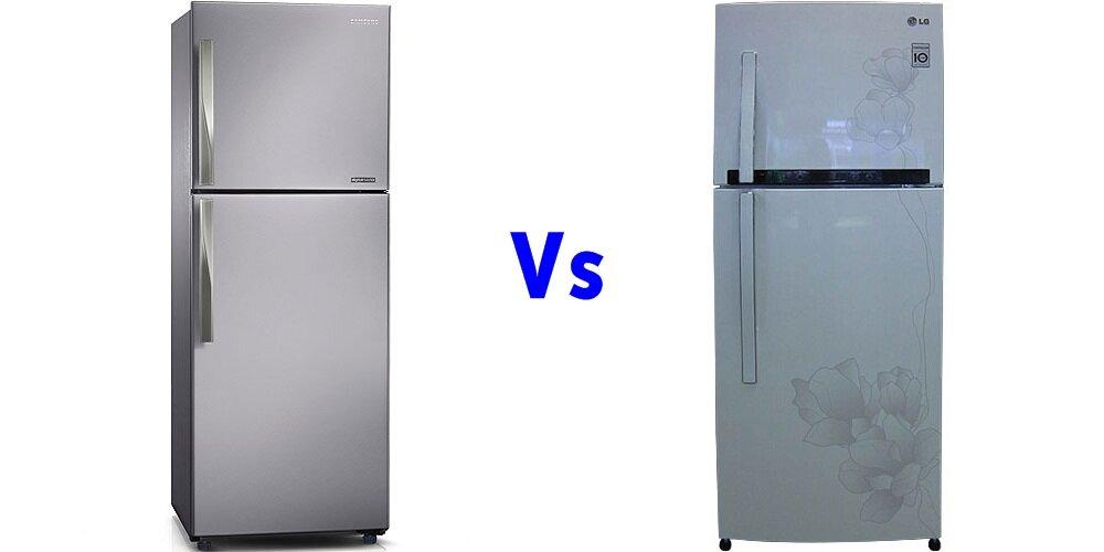 So sánh tủ lạnh Samsung RT-29FAJBDSA và LG GRC362MG