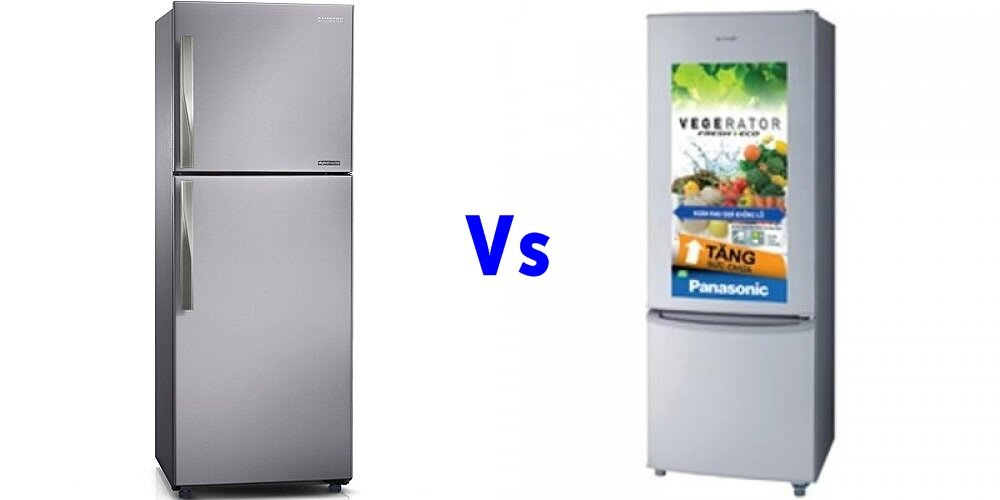 So sánh tủ lạnh Samsung RT-29FAJBDSA và Panasonic NR-BU343LH