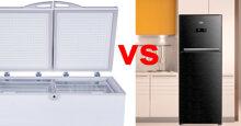So sánh tủ lạnh và tủ đông : Chọn mua tủ nào cho nhu cầu của gia đình ?