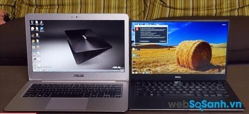 So sánh ultrabook Dell XPS 13 (Non-touch) và Asus Zenbook UX305