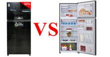 So sánh ưu nhược điểm của tủ lạnh Toshiba GR-AG36VUBZ và Toshiba GR-AG41VPDZ