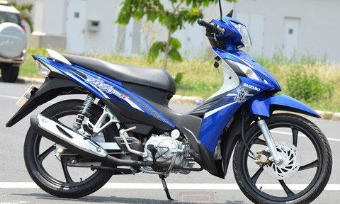 So sánh xe máy Honda Blade và Suzuki Viva