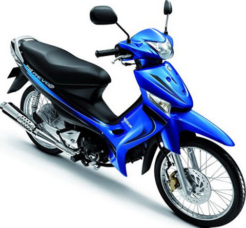 So sánh xe máy Honda Super Dream 110cc và Suzuki Revo