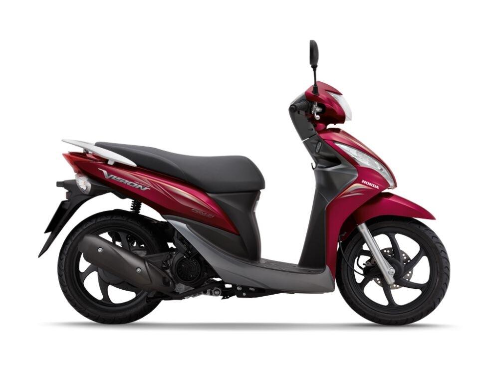 So sánh xe máy Honda Vision và Yamaha Nozza Grande