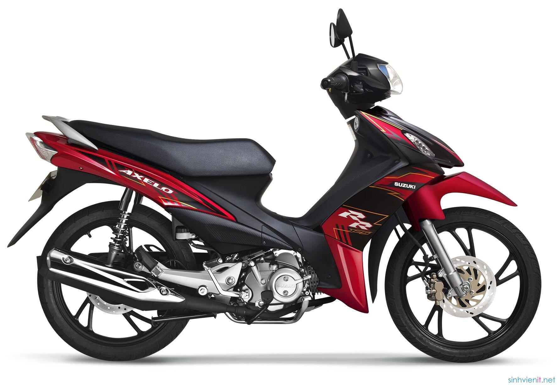So sánh xe máy Honda Wave RSX và Suzuki Axelo
