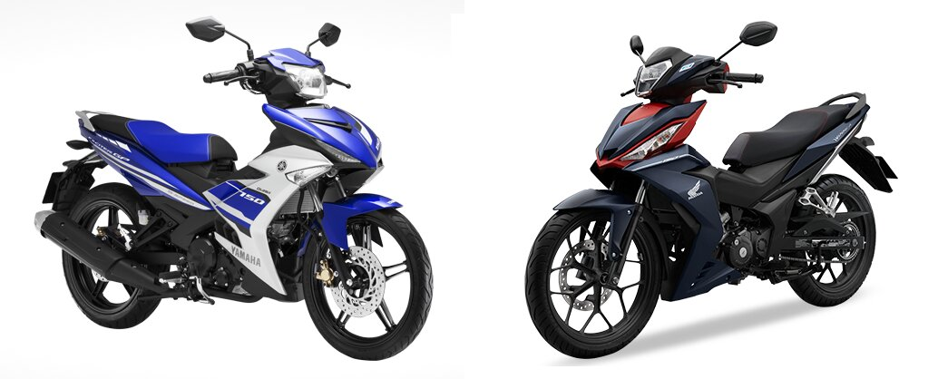 So sánh xe máy Honda Winner 150 và Yamaha Exciter 150