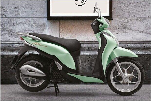 So sánh xe máy Piaggio Liberty và Honda SH Mode