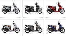 So sánh xe máy Piaggio Zip và Honda Vision