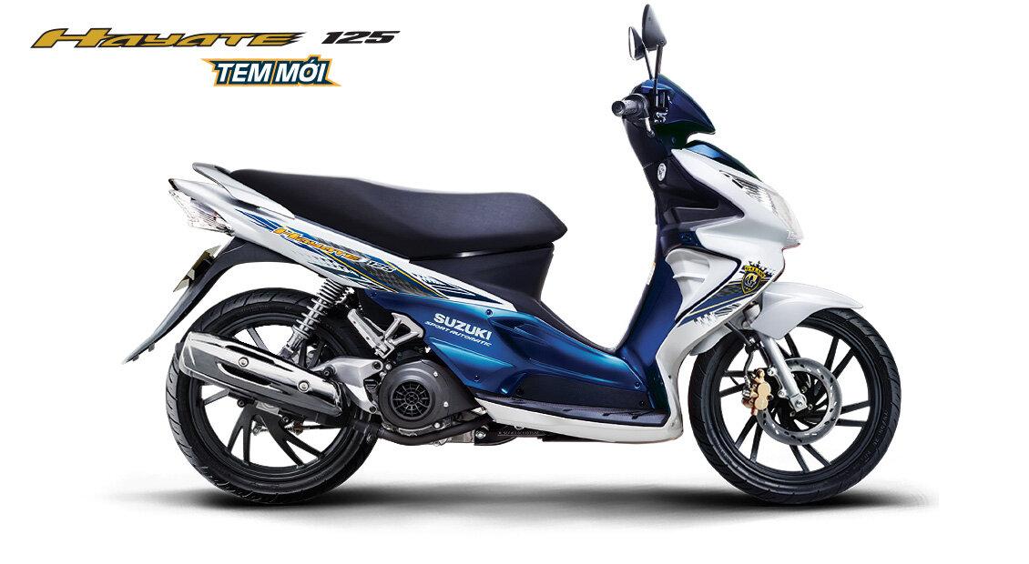 So sánh xe máy Suzuki Hayate và SYM Shark
