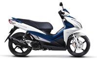 So sánh xe máy Suzuki Impulse và Kymco Many