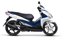 So sánh xe máy Suzuki Impulse và Yamaha Luvias