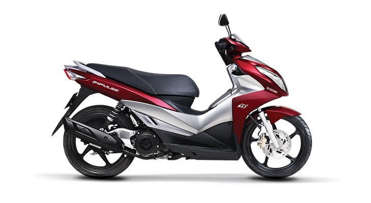 So sánh xe máy Suzuki Impulse và Kymco People