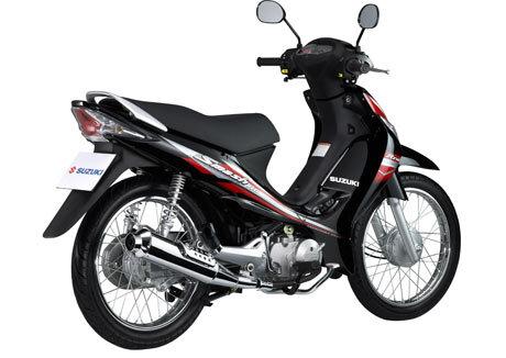 So sánh xe máy Suzuki Revo và Honda Future