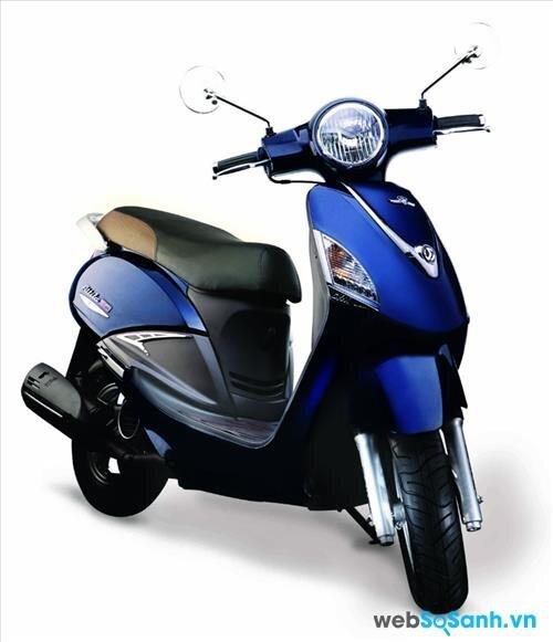So sánh xe máy SYM Attila Elizabeth và Suzuki Address