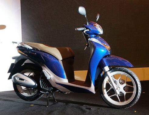 So sánh xe máy SYM Attila Elizabeth và Honda SH Mode