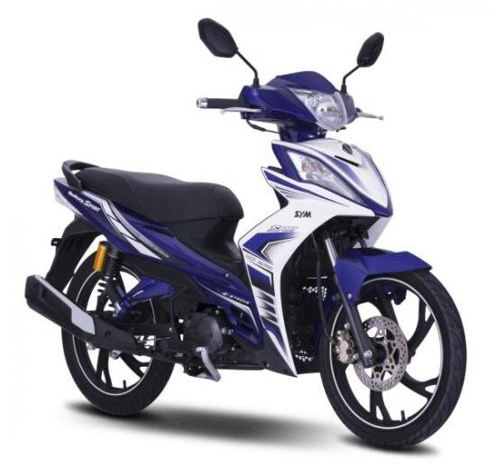 So sánh xe máy SYM Galaxy và Yamaha Exciter