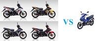 So sánh xe máy Yamaha Exciter  150 GP và RC