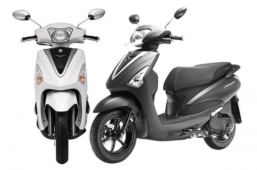 So sánh xe máy Yamaha Janus 125 và Yamaha Acruzo
