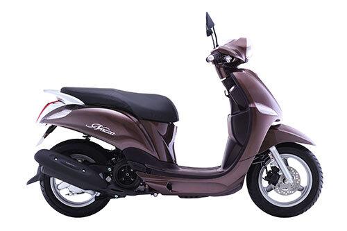 So sánh xe máy Yamaha Nozza và Kymco Many