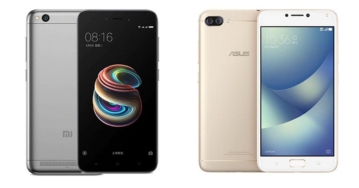 So sánh Xiaomi Redmi 5A và Asus Zenfone 4 Max Pro – khi mức giá không nói lên tất cả